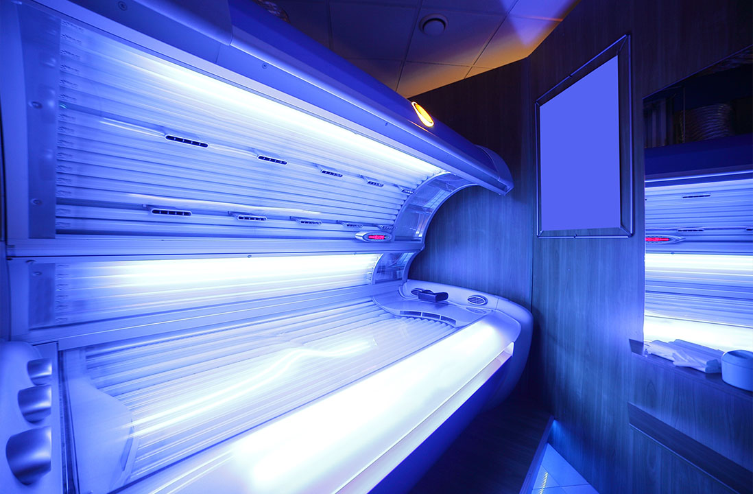 open tanning bed
